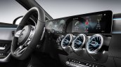 2018 Mercedes A-Class interior dashboard driver side