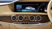 2018 Mercedes S-Class interior centre console