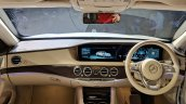 2018 Mercedes S-Class interior dashboard