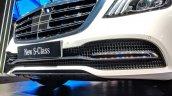 2018 Mercedes S-Class front bumper