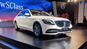 2018 Mercedes S-Class front angle