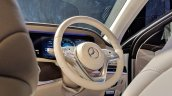 2018 Mercedes S-Class interior rear steering wheel