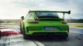 2018 Porsche 911 GT3 RS (facelift) dynamic