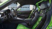2018 Porsche 911 GT3 RS (facelift) interior