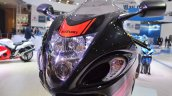 2018 Suzuki Hayabusa Black headlight at 2018 Auto Expo