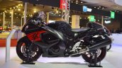 2018 Suzuki Hayabusa Black left side at 2018 Auto Expo