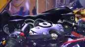 2018 Suzuki Hayabusa Black switchgear at 2018 Auto Expo