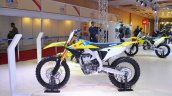 2018 Suzuki RM-Z450 left side at 2018 Auto Expo