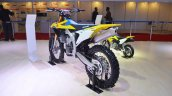 2018 Suzuki RM-Z450 rear left quarter at 2018 Auto Expo