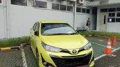 2018 Toyota Yaris TRD Sportivo (facelift) exterior spy shot