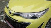 2018 Toyota Yaris TRD Sportivo (facelift) front fascia spy shot