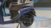 2018 Yamaha Fascino side at 2018 Auto Expo