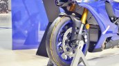 2018 Yamaha YZF-R1 front wheel at 2018 Auto Expo