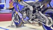 2018 Yamaha YZF-R1 swingarm at 2018 Auto Expo