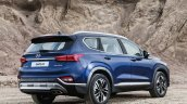 2019 Hyundai Santa Fe rear three quarters