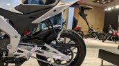 Aprilia RS 150 swingarm at 2018 Auto Expo