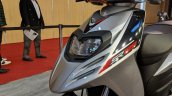 Aprilia SR 125 headlight at 2018 Auto Expo