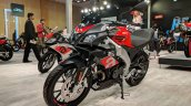 Aprilia Tuono 150 front left quarter at 2018 Auto Expo