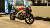 Aprilia Tuono 150 front right quarter at 2018 Auto Expo