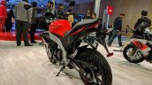 Aprilia Tuono 150 rear left quarter at 2018 Auto Expo