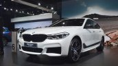 BMW 6 Series Gran Turismo front three quarters left side at Auto Expo 2018