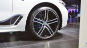 BMW 6 Series Gran Turismo front wheel at Auto Expo 2018