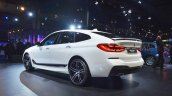 BMW 6 Series Gran Turismo rear three quarters at Auto Expo 2018