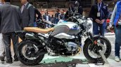 BMW R nineT Scrambler right side at 2018 Auto Expo