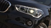 BMW X1 M Sport review headlight