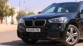 BMW X1 M Sport review nose section view