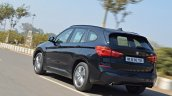 BMW X1 M Sport review rear angle motion shot