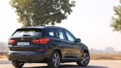 BMW X1 M Sport review rear angle view