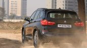 BMW X1 M Sport review rear motion