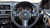 BMW X1 M Sport review steering wheel