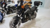 Bajaj Dominar 400 Police bike black at Motobike Istanbul 2018