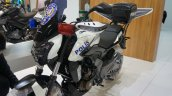 Bajaj Dominar 400 Police bike white at Motobike Istanbul 2018