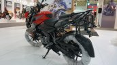 Bajaj Pulsar NS 200 with accessories rear left quarter at Motobike Istanbul 2018