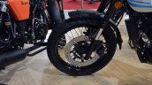 Cleveland Ace Cafe front wheel at 2018 Auto Expo