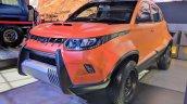 Custom Mahindra KUV100 Adventure Edition front angle
