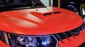 Custom Mahindra KUV100 Adventure Edition hood scoop