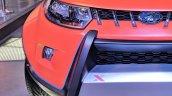 Custom Mahindra KUV100 Adventure Edition headlight