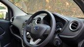 Datsun redi-GO 1.0 AMT dashboard angle view