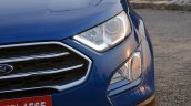 Ford EcoSport Petrol AT review nose section