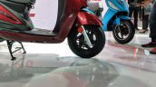 Hero Duet 125 front wheel at 2018 Auto Expo