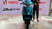 Hero Maestro Edge 125 front at 2018 Auto Expo