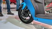 Hero Maestro Edge 125 front wheel at 2018 Auto Expo