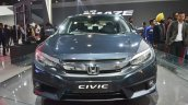 Honda Civic front at Auto Expo 2018