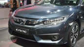 Honda Civic front fascia at Auto Expo 2018
