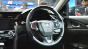 Honda Civic steering wheel at Auto Expo 2018