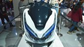 Honda PCX Electric Concept headlights at 2018 Auto Expo